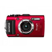 Olympus TG-3 Tough Camera Red 16MP 4xZoom 3.0LCD FHD 25mm Wide GPS Wtprf 15m
