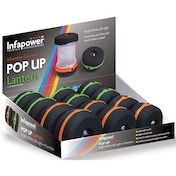 Infapower 3 Function Pop Up Lantern (Pack of 12)