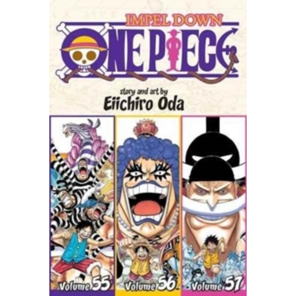 One Piece (Omnibus Edition), Vol. 19 : Includes vols. 55, 56 & 57 : 19