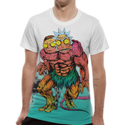 Rick And Morty - Monster Men's Small T-Shirt - White