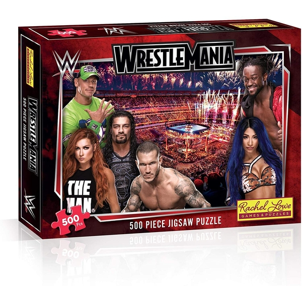 WWE Wrestlemania Jigsaw Puzzle - 500 Pieces