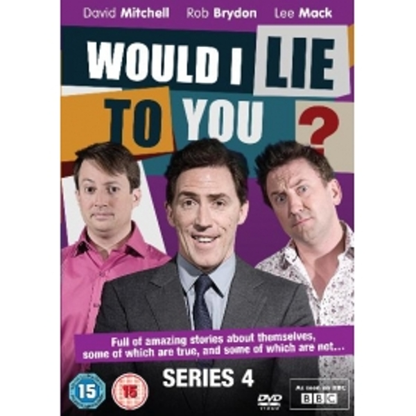 Would I Lie To You - Series 4 DVD