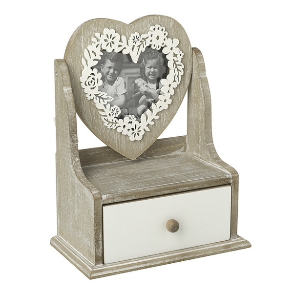 Rustic Floral Frame and Draw By Heaven Sends