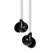 Veho Z-1 Stereo Noise Isolating Earphones Black and White