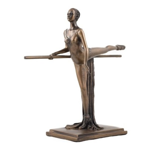 The Discipline of Training Ballet Cold Cast Bronze Sculpture 20cm