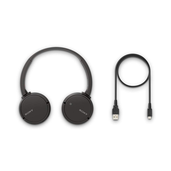 607dd3841cf Sony WH-CH500 Wireless Bluetooth NFC On-Ear Headphones with 20 hours  Battery Life