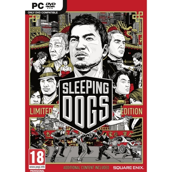 Sleeping Dogs Limited Edition Game PC