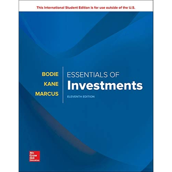ISE Essentials of Investments  Paperback / softback 2018