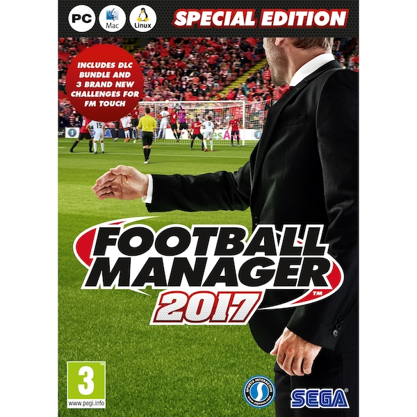 Football Manager 2017 Special Edition PC & MAC & Linux Game