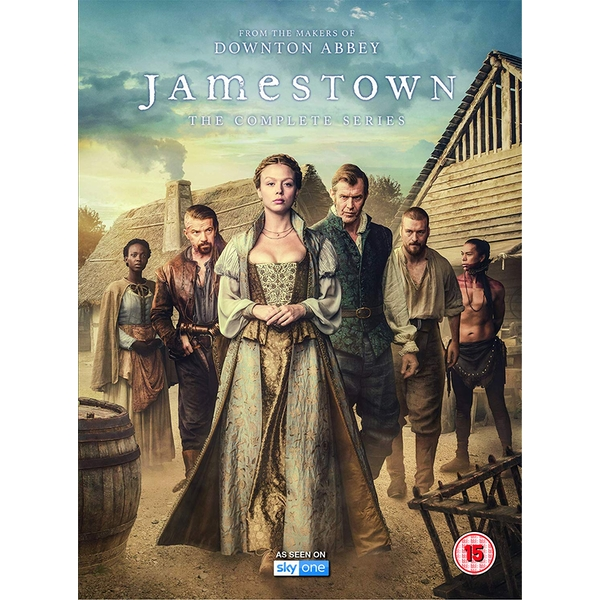 Jamestown Complete Series 1-3 DVD