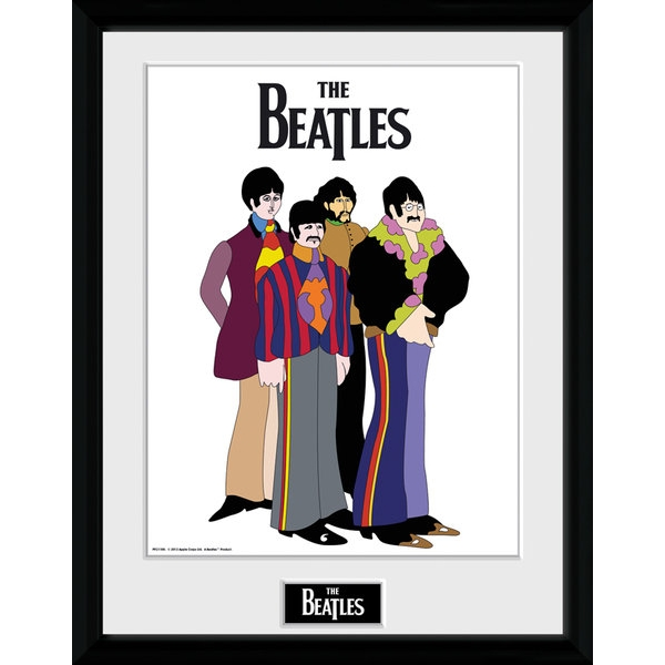The Beatles Yellow Submarine Group Collector Print