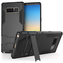 Samsung Galaxy Note 8 Armour Kickstand Case - Black