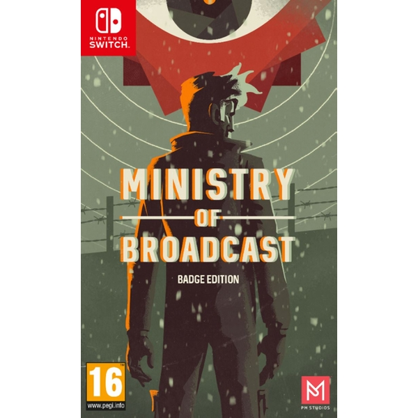 Ministry of Broadcast Badge Collector's Edition Nintendo Switch Game