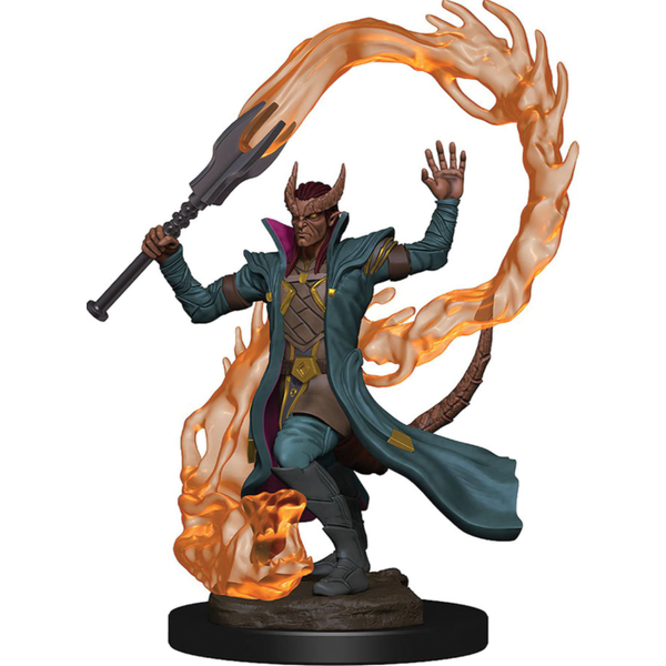 D&D Icons of the Realms Premium Figures - Tiefling Male Sorcerer