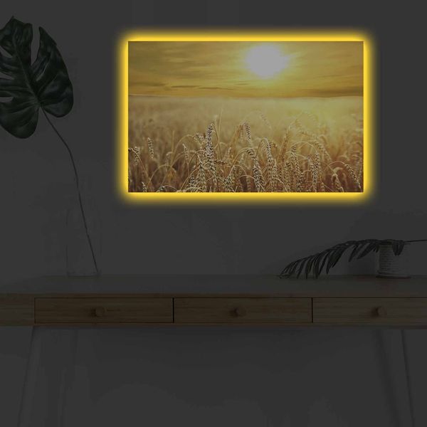 4570DHDACT-152 Multicolor Decorative Led Lighted Canvas Painting
