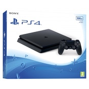 Damaged Packaging PlayStation 4 Slim D-chassis (500GB) Black Console Used - Like New