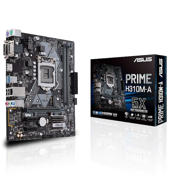 Asus PRIME H310-T R2.0 Intel H310 1151 Thin Mini ITX DDR4 SO-DIMM HDMI DP Business Features M.2
