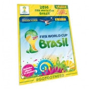 FIFA World Cup 2014 Sticker Collection Starter Pack