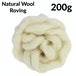 Natural Wool Roving - 200g | Pukkr - Image 4