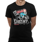 Blondie - Doom Or Destiny Men's Small T-Shirt - Black