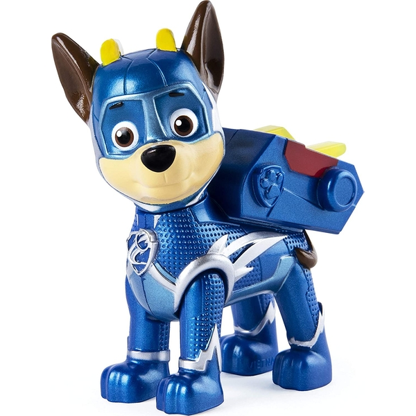 Paw Patrol Mighty Pups Super Paws Figure - Chase