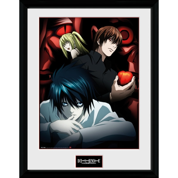 Death Note Light L and Misa Collector Print