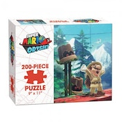 Super Mario Odyssey Wooded Jigsaw Puzzle - 200 Pieces