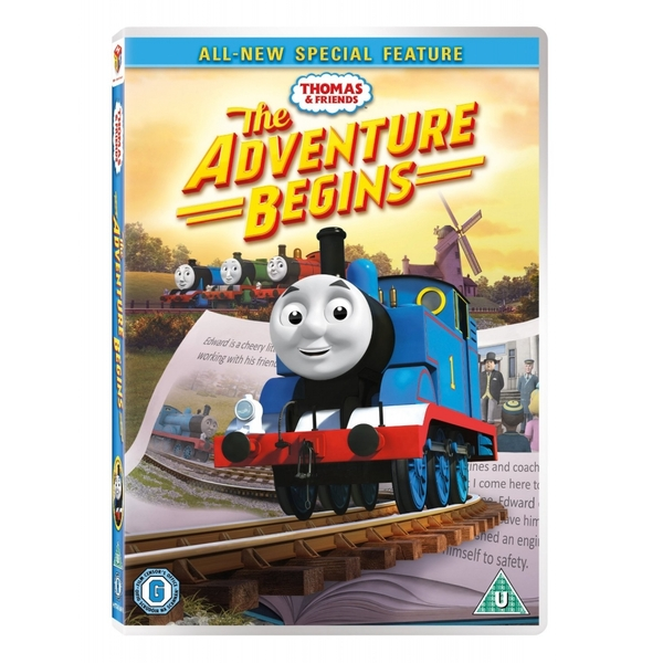 Thomas & Friends The Adventure Begins DVD