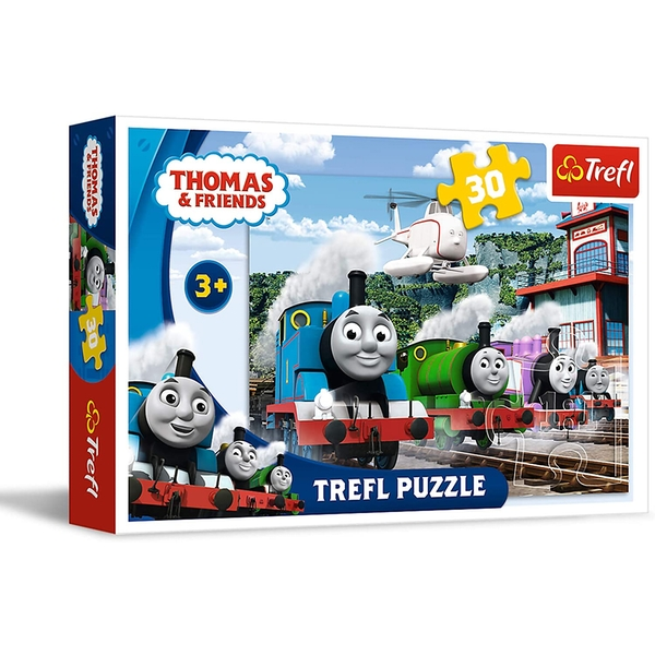 Thomas & Friends Railway Race Jigsaw Puzzle - 30 Pieces