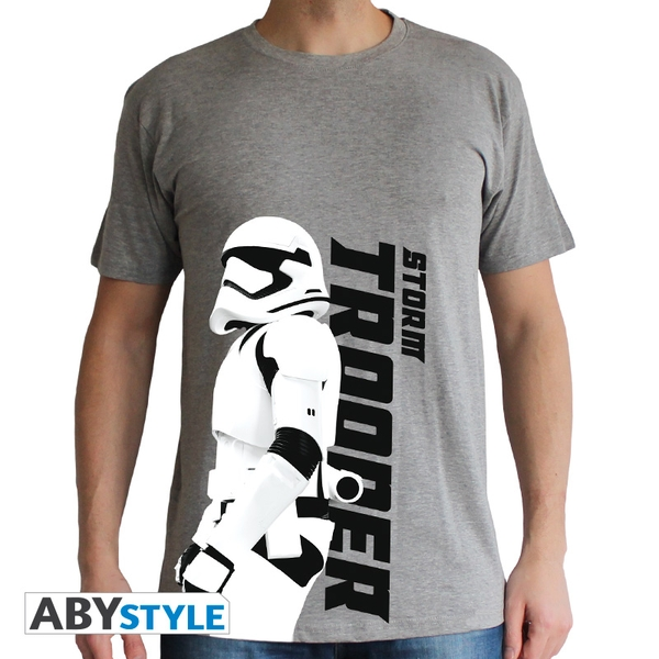 Star Wars - Trooper Episode 7 Men's Small T-Shirt - Grey - Image 1