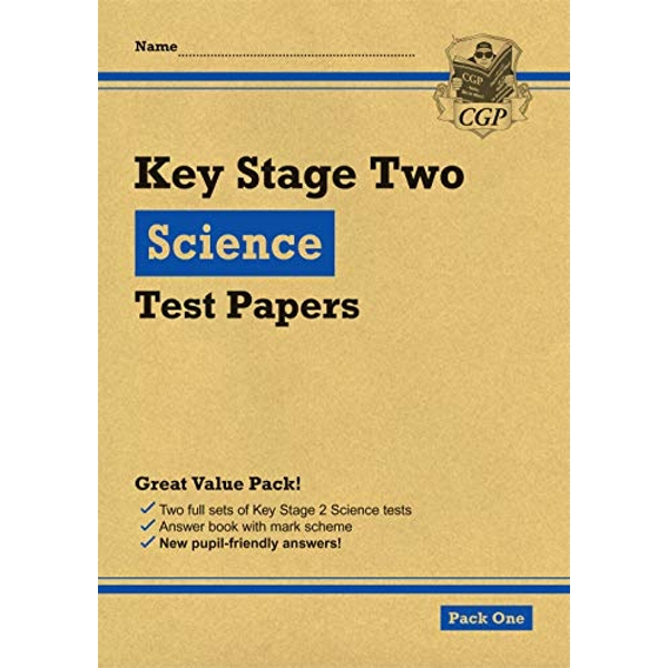 New KS2 Science Tests: Pack 1  Paperback / softback 2018