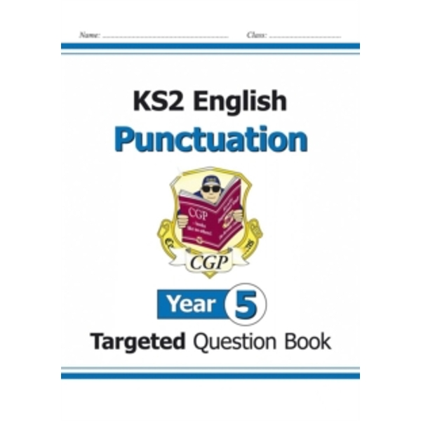 KS2 English Targeted Question Book: Punctuation - Year 5 by CGP Books (Paperback, 2014)