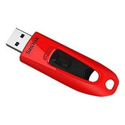 SanDisk 64 GB Ultra USB 3.0 Flash Drive - Red