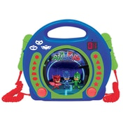 Lexibook RCDK100PJM PJ Masks CD Player with Microphones UK Plug