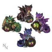 Dragon's Reward (Pack Of 4) Dragon Figures