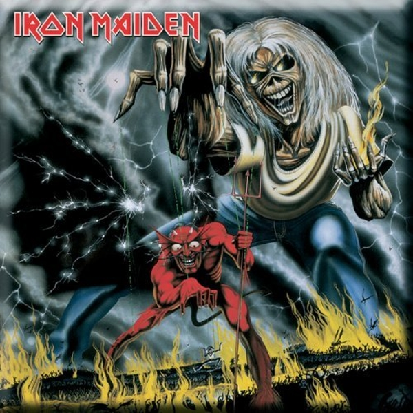 Iron Maiden - Numbers of the Beast Fridge Magnet