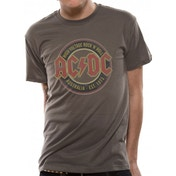 AC/DC Australia Est 1973 T-Shirt Medium - Grey