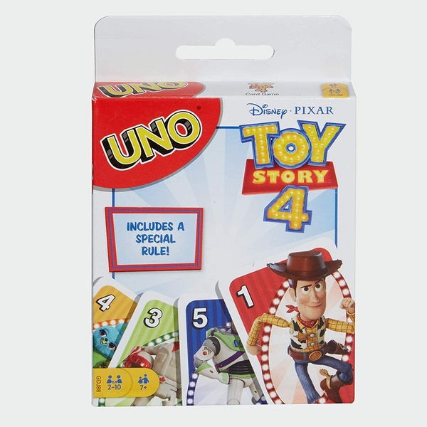 Image of Toy Story 4 Uno Card Game