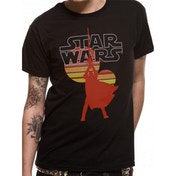 Star Wars - Retro Suns Men's Small T-Shirt - Black