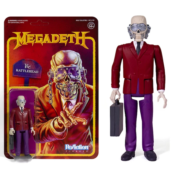 Vic Rattlehead (Megadeath) ReAction Figure
