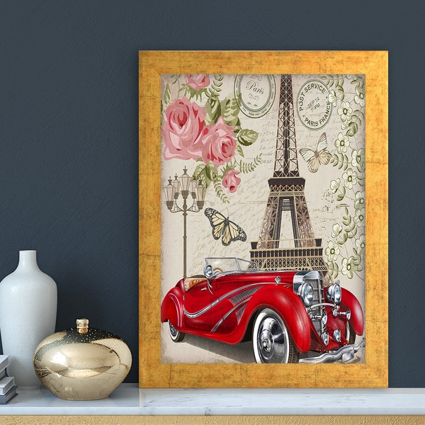 AC11115870593 Multicolor Decorative Framed MDF Painting