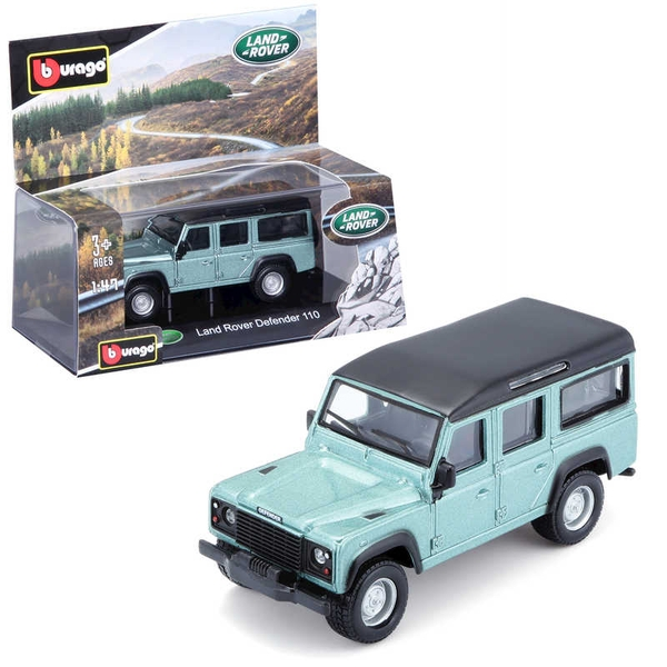 1:43 Street Fire Land Rover Defender Car Diecast Model
