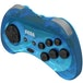 Retro-Bit Official SEGA Saturn Blue Wireless Controller 8-Button Arcade Pad for Sega Mega Drive - Image 3