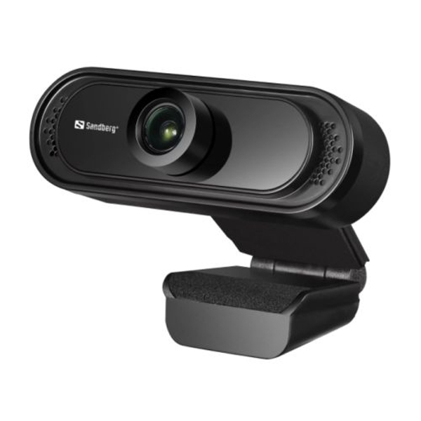 Sandberg USB FHD 2MP Webcam with Mic 1080p 30fps