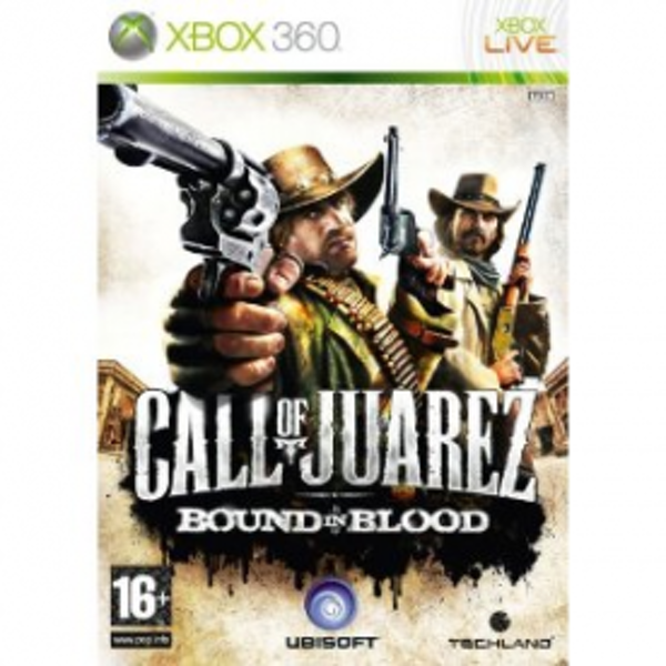 Call Of Juarez Bound In Blood Game Xbox 360