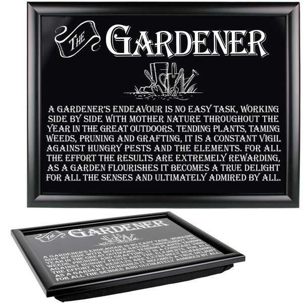 Ultimate Gift for Man Lap Trays Gardener