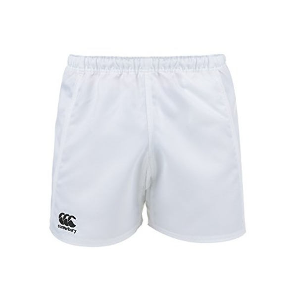 Canterbury Men's Advantage Rugby Shorts, White, Small