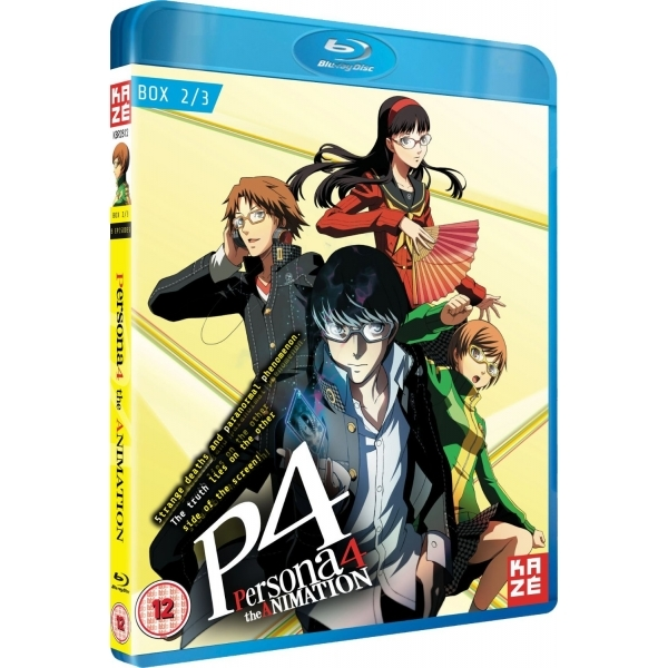 Persona 4 The Animation Box 2 Blu ray - ozgameshop com