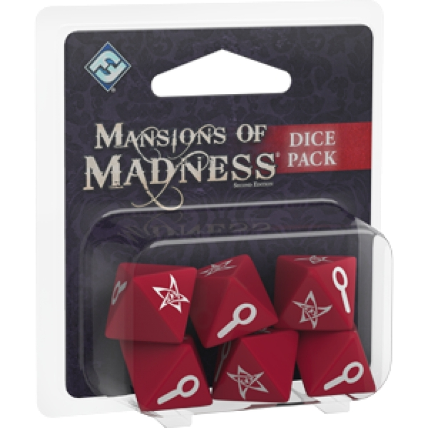 Mansions of Madness Second Edition Dice Pack Board Game