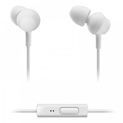 Panasonic RPTCM360EW In-Ear Headphones wiht Remote & Mic White